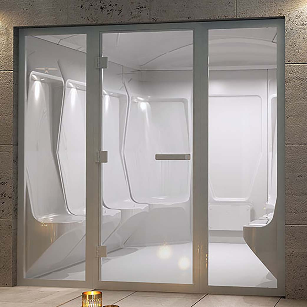 Steam rooms for sale UK by Saturn Spas